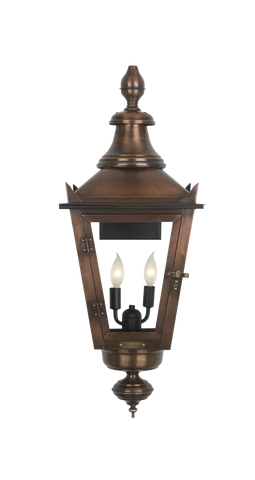 The CopperSmith FS41 Franklin Street Gas or Electric Lantern