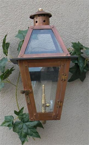 "GL15 Chateau Model Gaslight w/ Wall Mount 15"" x 8"""