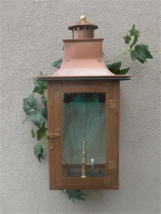 "Faye Rue Small Model Gaslight GL21 w/ Wall Mount 20"" x 9 1/2"""