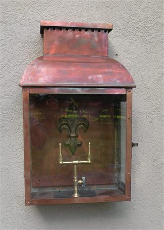 "GL32 Flambeau Grande Model Gaslight 22"" x 12 3/4"""