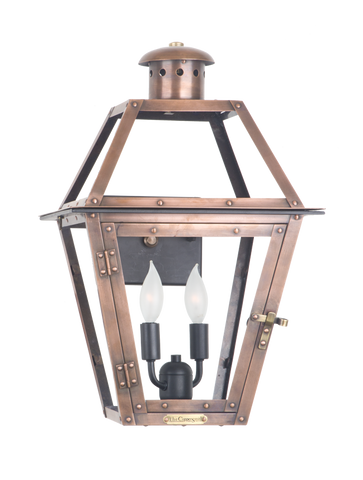 The CopperSmith GT15 Georgetown Gas or Electric Lantern