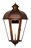 The CopperSmith JS61 Joachim Street Gas or Electric Lantern