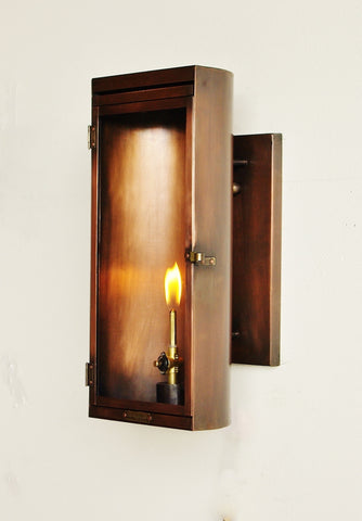 The CopperSmith LU18 Luna Gas or Electric Lantern