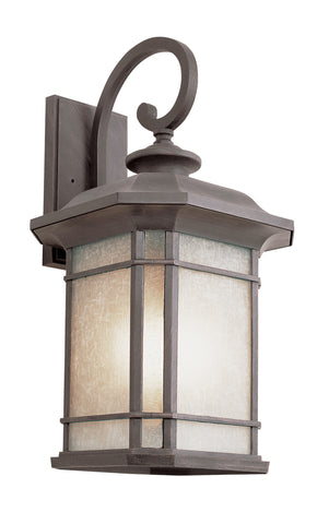 "PL-5821 RT GU-24 Corner Window 16"" Wall Lantern"