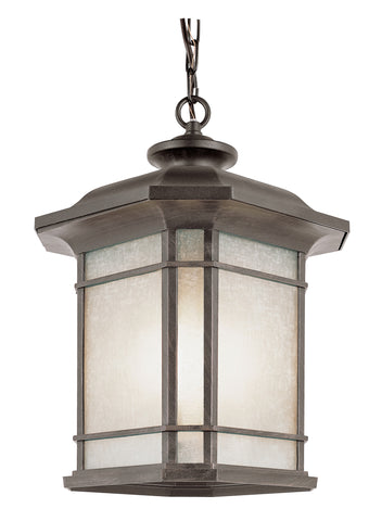 "PL-5826 RT Corner Window 18"" Hanging Lantern"