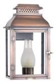 The CopperSmith PS42 Palmetto Street Gas or Electric Lantern