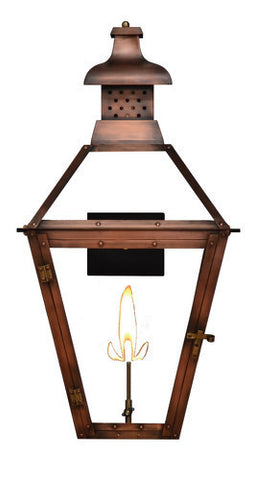 The CopperSmith PH20 Pebble Hill Gas or Electric Lantern