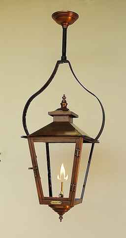 The CopperSmith PY Pendant Yoke Hanging Mount for Gas Lights