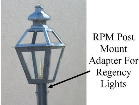 Regency RPM Post Mount Adapter for Regency Series Lights