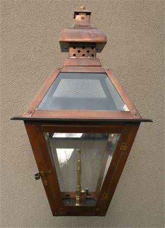 "Regenia Rue Model Gaslight GL20 w/ Wall Mount  23"" x 13"""