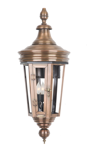 The CopperSmith RS61 Royal Street Gas or Electric Lantern