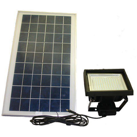 Solar Goes Green SGG-F156-3T SMD LED Solar Flood Light w/ Remote Control