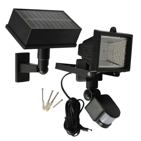 Solar Goes Green SGG-PIR54 LED Solar PIR Motion Sensor Security Flood Light
