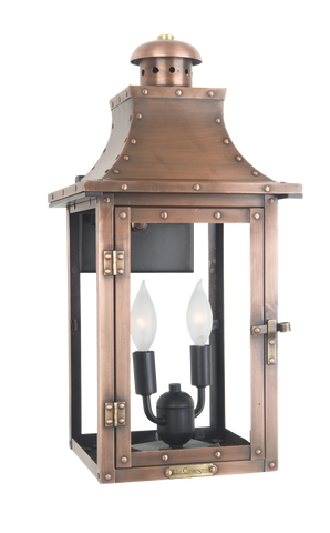 The CopperSmith SO20 Somerset Street Gas or Electric Lantern