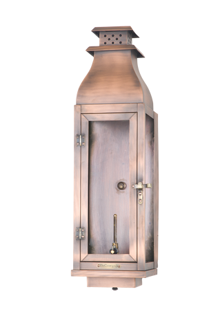 The CopperSmith WS23 Water Street Gas or Electric Lantern