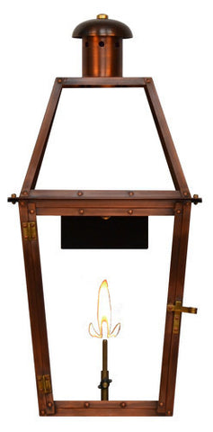 The CopperSmith WD23 Windsor Gas or Electric Lantern
