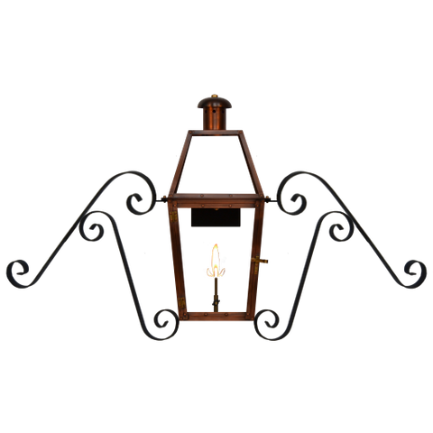 The CopperSmith BQM Baroque Moustache Bracket for Gas Lights  sc 1 st  Outdoor Lighting Supply : coppersmith lighting - azcodes.com