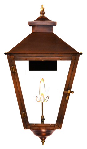 The CopperSmith CS41 Conception Street Gas or Electric Lantern