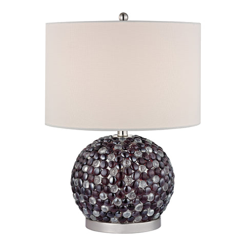 Amethyst Stone Bejewelled Table Lamp
