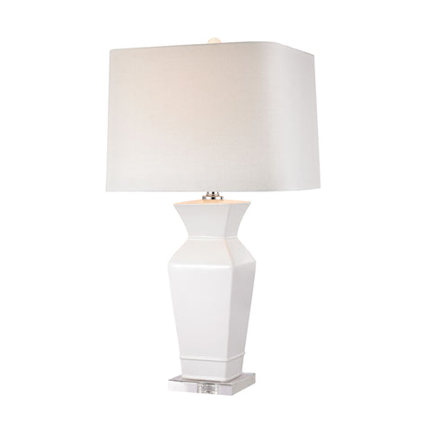 Angular Tapered Neck Lamp