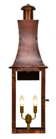 The CopperSmith CH30 Churchill Gas or Electric Lantern
