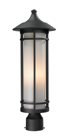 529PHM-BK Woodland Outdoor Post Light