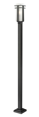549PHB-536P-BK Abbey  Outdoor Post Light