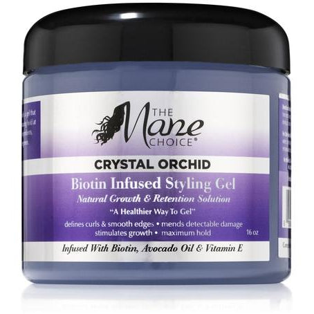 The Mane Choice Crystal Orchid Biotin Infused Styling Gel - Go Natural 24/7, LLC