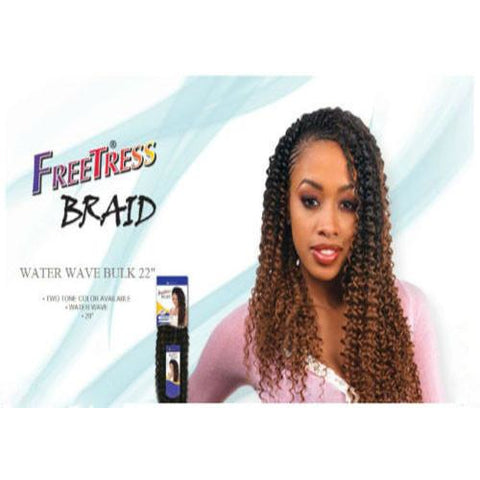 "FreeTress Braid Water Wave 22"" - Go Natural 24/7, LLC"