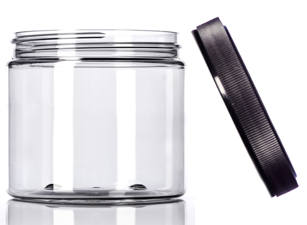 Go Natural 24/7 - 16 oz Clear Jar