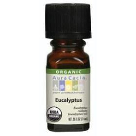 Aura Cacia Eucalyptus Organic Essential Oil - Go Natural 24/7, LLC