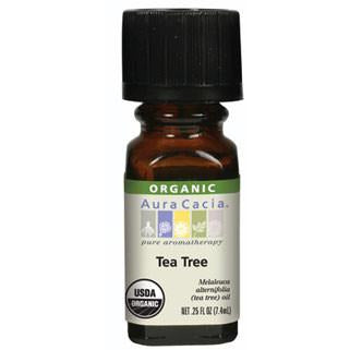 Aura Cacia Tea Tree Organic Essential Oil - Go Natural 24/7, LLC
