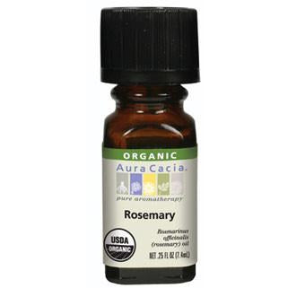 Aura Cacia Rosemary Organic Essential Oil - Go Natural 24/7, LLC
