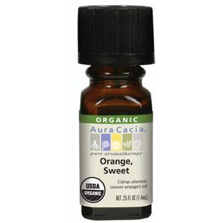 Aura Cacia Orange Sweet Organic Essential Oil - Go Natural 24/7, LLC