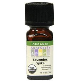 Aura Cacia Lavender Spike Organic Essential Oil - Go Natural 24/7, LLC