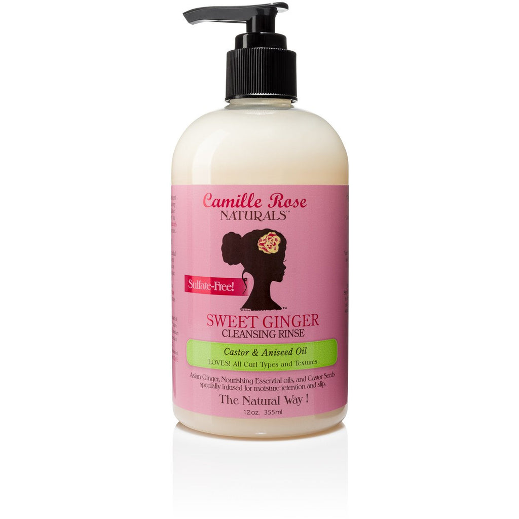Camille Rose Naturals Sweet Ginger Cleansing Rinse - Go Natural 24/7, LLC