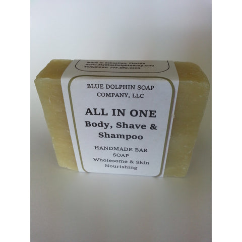 Blue Dolphin All-in-One Bar Soap (Formerly Restorz Soap Bar) - Go Natural 24/7, LLC