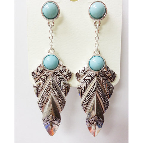 Go Natural 24/7 Earring -Eagle Wings - Go Natural 24/7, LLC