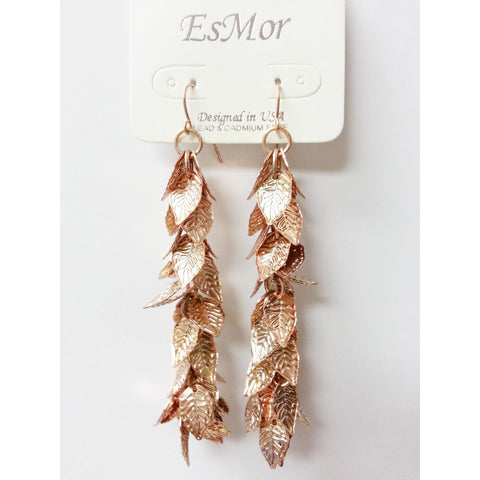 Go Natural 24/7 Earring -Falling Leaves - Go Natural 24/7, LLC