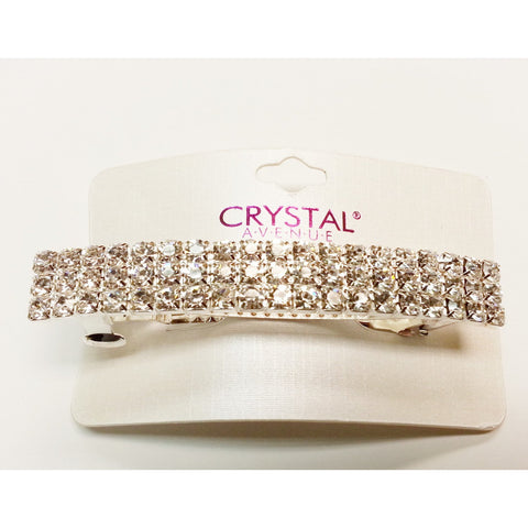 Crystal Avenue Barrette - Go Natural 24/7, LLC