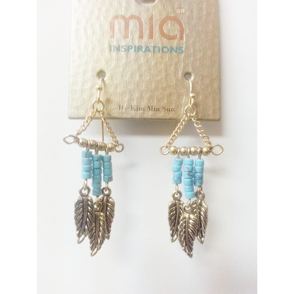 Mia Collections -Mini Feather Danglers