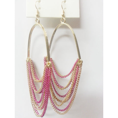 Go Natural 24/7 Earring -Metal Chains