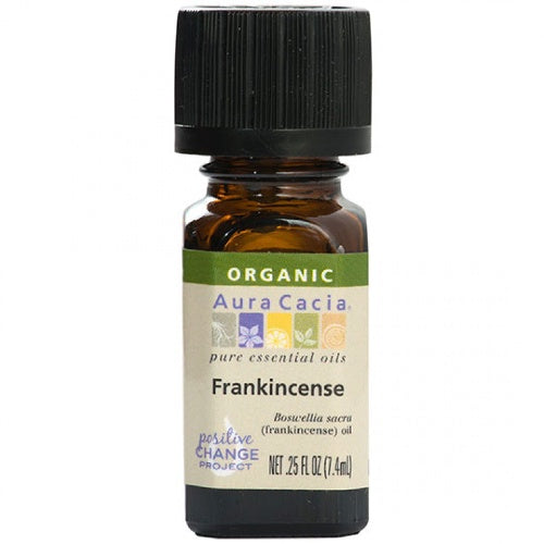 Aura Cacia Frankincense Organic Essential Oil - Go Natural 24/7, LLC