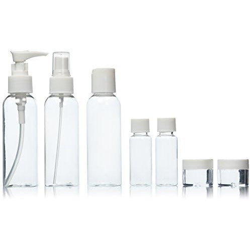 Go Natural 24/7 - 7 Piece Travel Bottle Set - Go Natural 24/7, LLC