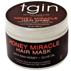 TGIN Honey Miracle Hair Mask - Go Natural 24/7, LLC