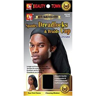 Beauty Town Spandex Dreadlocks & Braids Cap - Go Natural 24/7, LLC