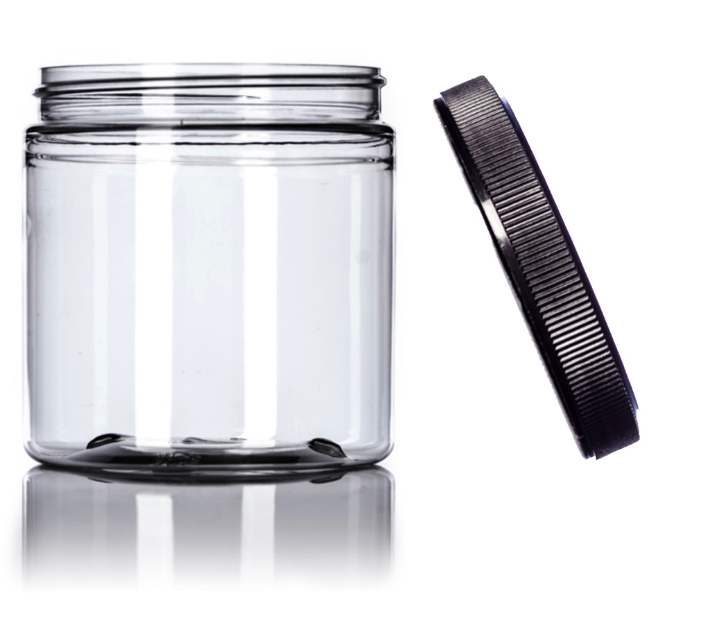 Go Natural 24/7 - 8 oz Clear Jar