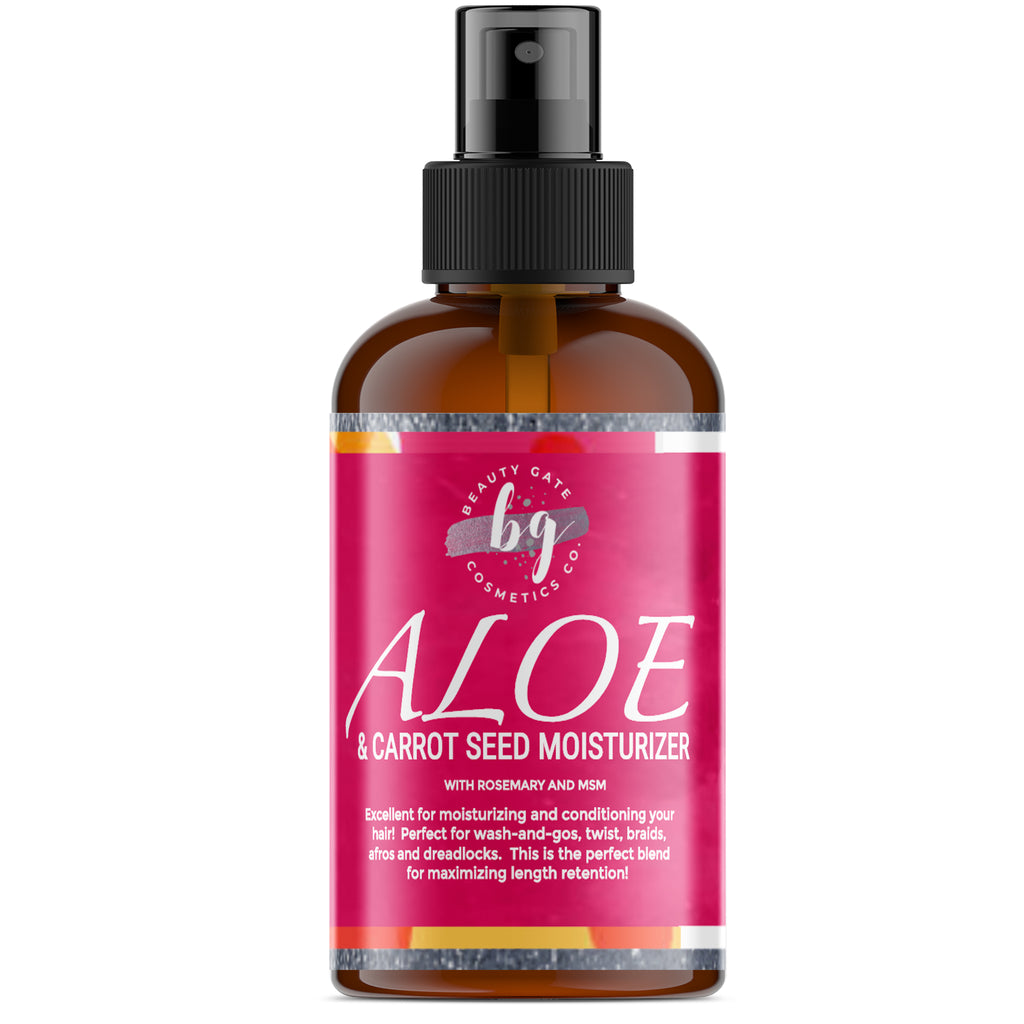 Beauty Gate Aloe and Carrot Seed Moisturizer - Go Natural 24/7, LLC