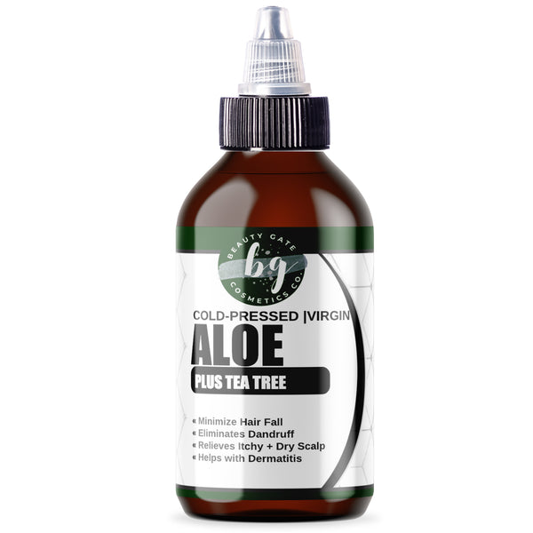 Beauty Gate Aloe Vera Plus Tea Tree Oil - Go Natural 24/7, LLC