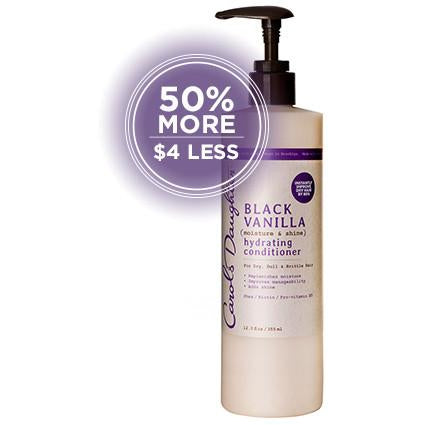 Carol's Daughter Black Vanilla Moisture & Shine Hydrating Conditioner - Go Natural 24/7, LLC